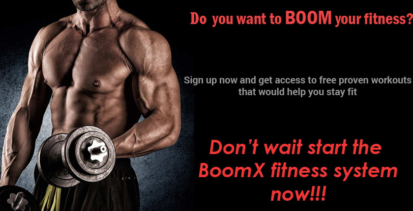 Are you ready to take your fitness to the X level with BoomX